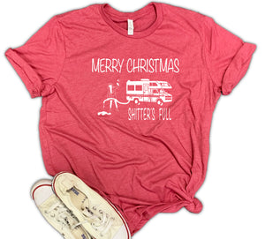 Merry Christmas Shitters Full Unisex Relaxed Fit Soft Blend Te