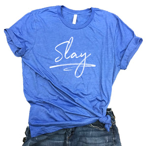 Slay Unisex Relaxed Fit Soft Blend Tee