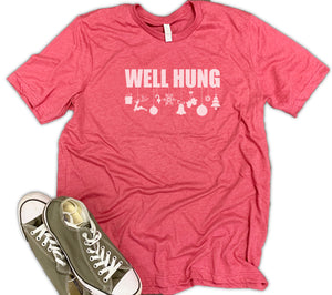 Well Hung Unisex Relaxed Fit Soft Blend Te