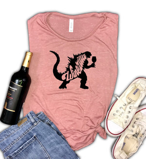 Winezilla Women's Muscle Tank