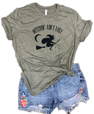Witchin' Ain't Easy Unisex Relaxed Fit Soft Blend Tee