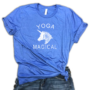 Yoga is Magical Unisex Soft Blend Shirt