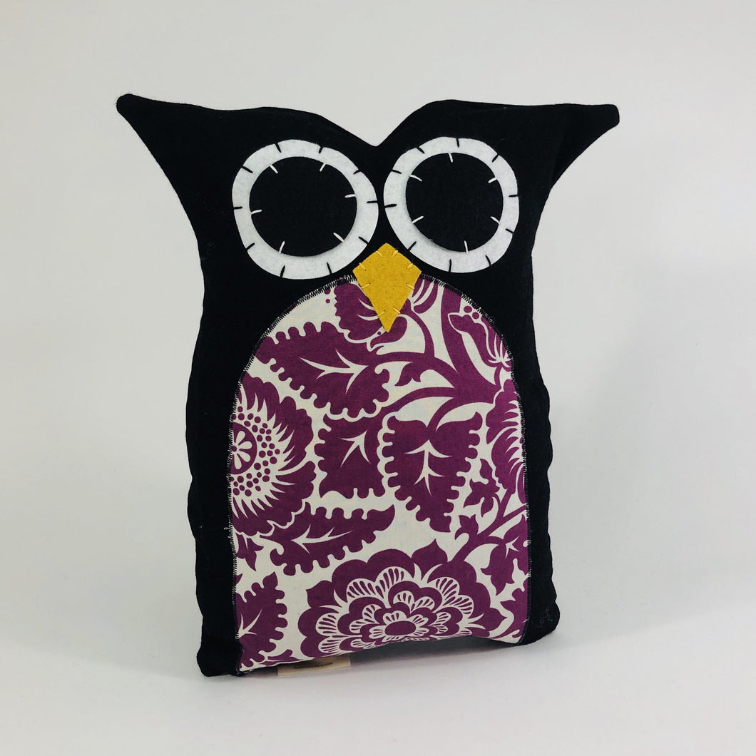 Owl Pillow Tall