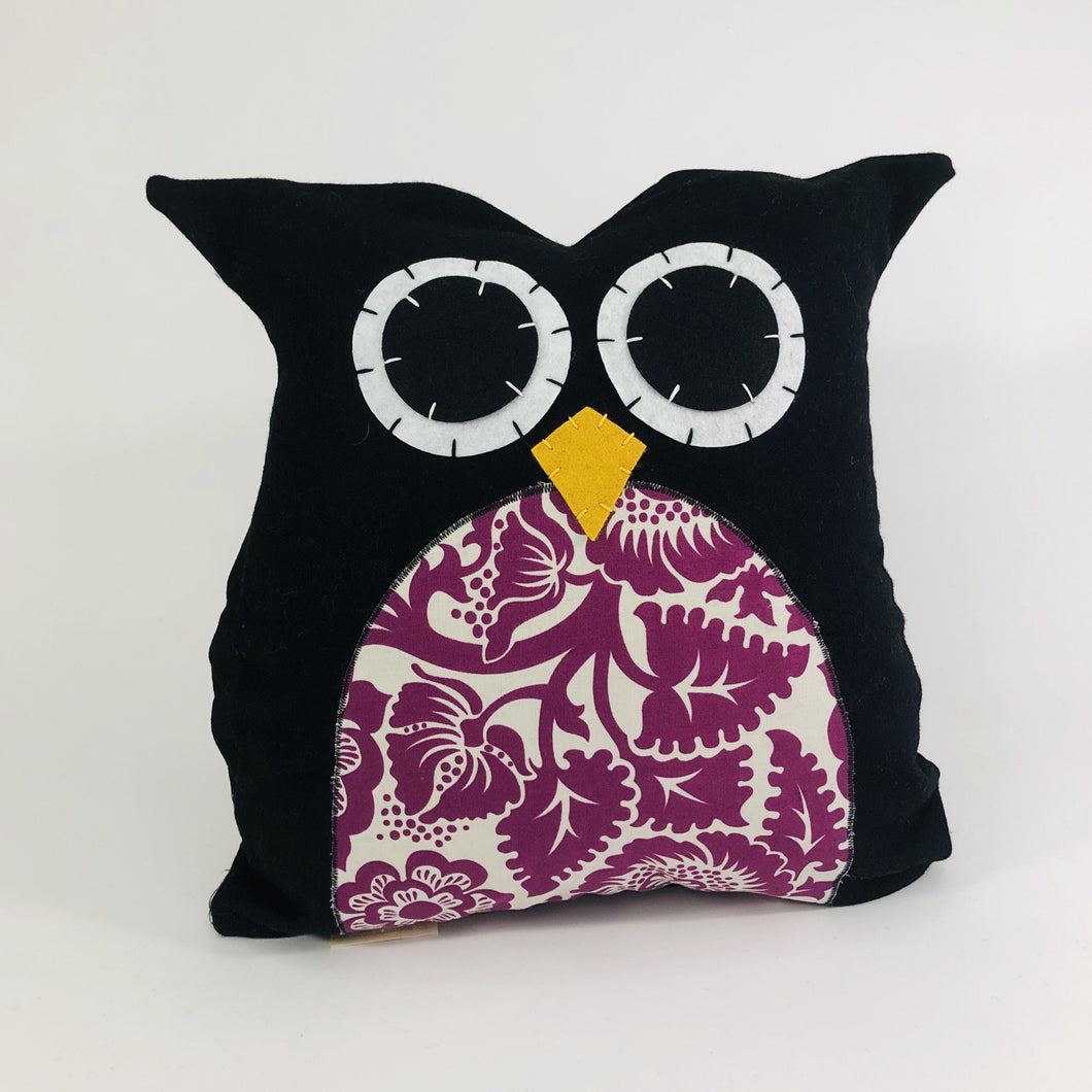 Owl Pillow Square