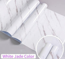 Load image into Gallery viewer, White Luxury Self Adhesive Waterproof Marble Wallpaper