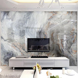 Blue and Grey 3D Abstract Art Marble Photo Wall Mural