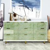Green Marble Wallpaper - 3/5m x 60cm