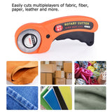 Premium Sharp Rotary Round Blade Wallpaper Cutter Tool - 45mm
