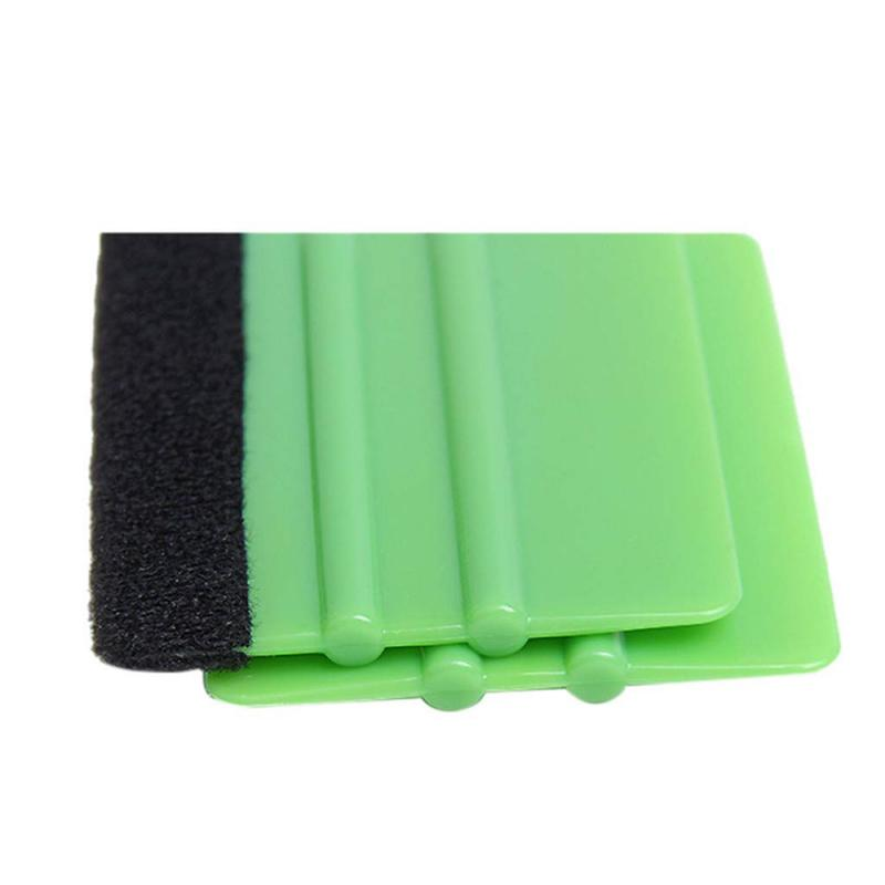 Large Double-sided Green Felt Edge Wallpaper Smoother - 1pcs