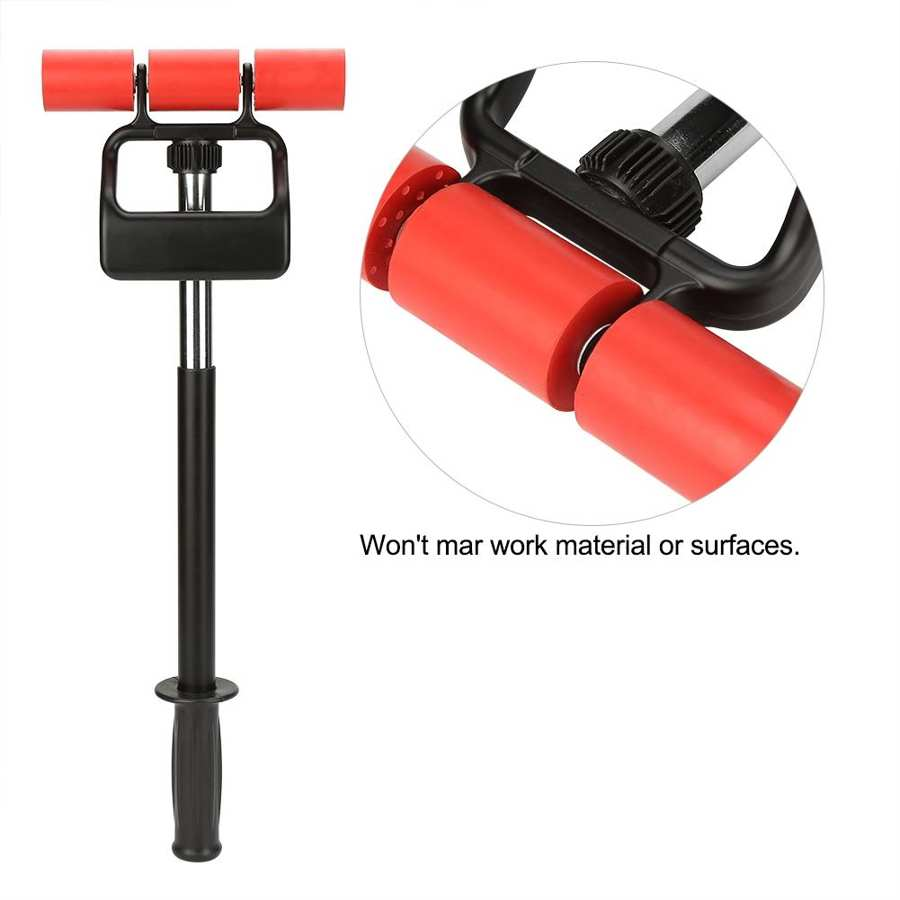 Extendable Rubber Wallpaper Hand Roller Tool