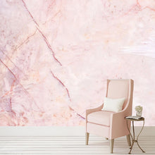Load image into Gallery viewer, 3D Modern Pink Marble Wall Mural