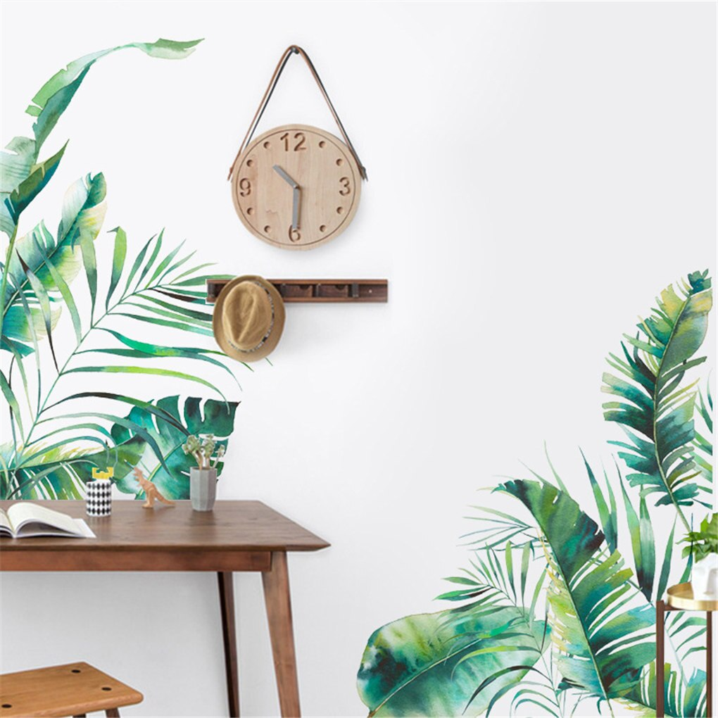 Tropical Leaf PVC Wall Sticker