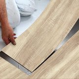 Wood Grain Waterproof Self Adhesive Floor Stickers - 20 x 300cm