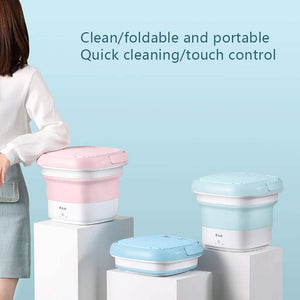 Portable Foldable Mini Washing Machine