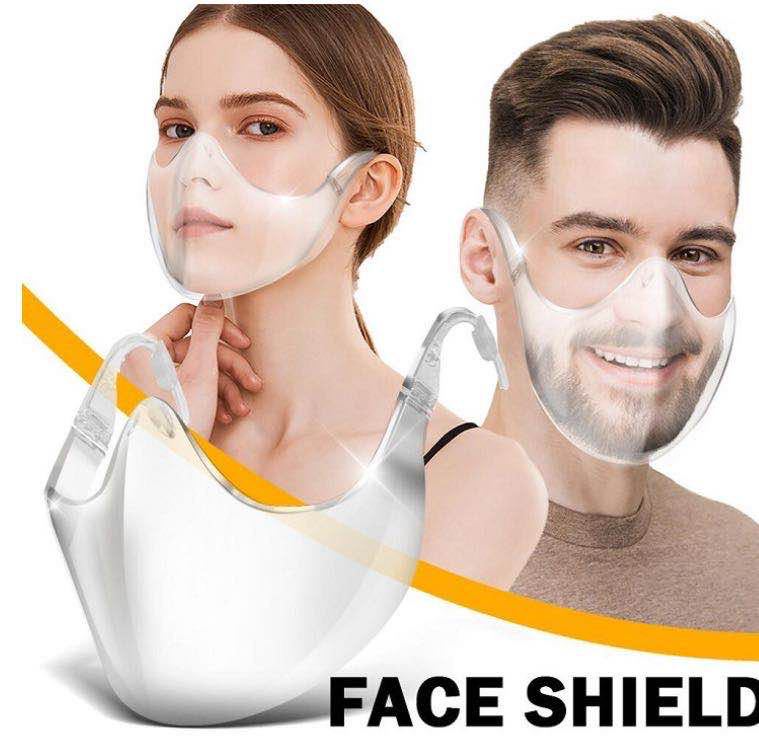 Transparent & Stylish Face Protector