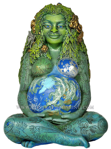 Millenial Gaia - Mother Earth Statue