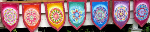 Mandala 2 Prayer Flags
