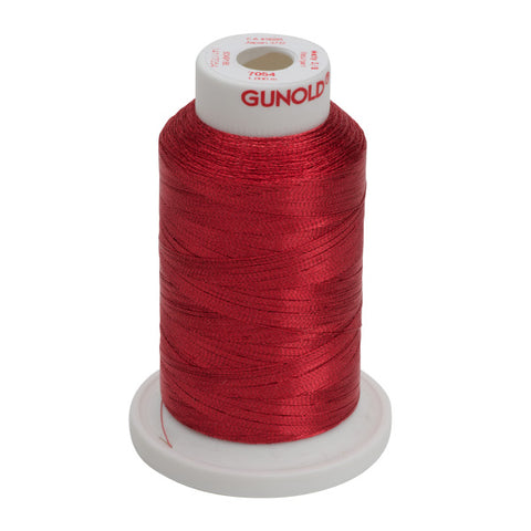 7054- 30 WT METALLIC METY 5/2 MINI-KING 1,100 YDS - Red