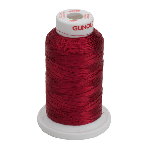 7055- 30 WT METALLIC METY 5/2 MINI-KING 1,100 YDS - Cranberry
