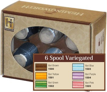 Variegated Hemingworth Thread Set