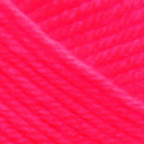 Premier Yarns Anti-Pilling Everyday Worsted Solid Yarn-Neon Pink
