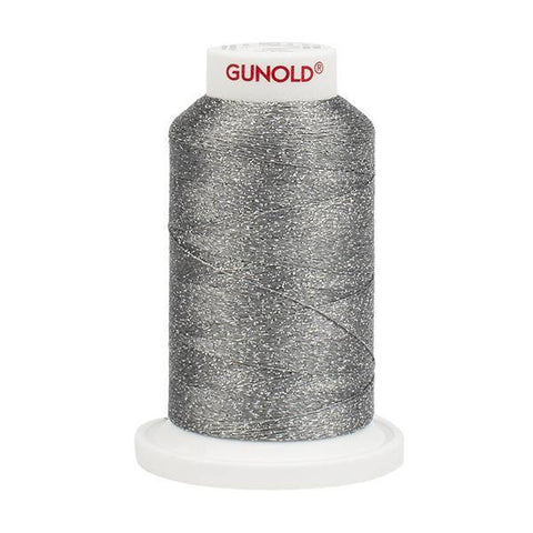 50626 - Light Cool Gray with Tone On Tone Sparkle 30 Wt Gunold Poly Star