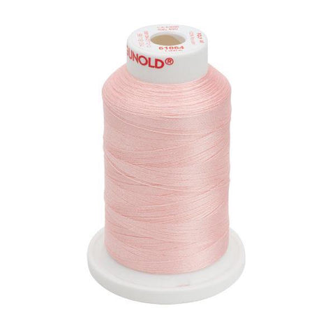 61064 - Pale Peach Polyester Embroidery Thread - 40 WT. 1,100 yd. Cones - Oh My Crafty Supplies Inc.