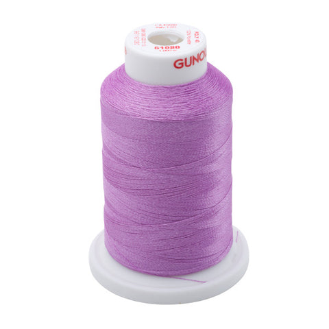 61080 - Orchid Polyester Embroidery Thread - 40 WT. 1,100 yd. Cones