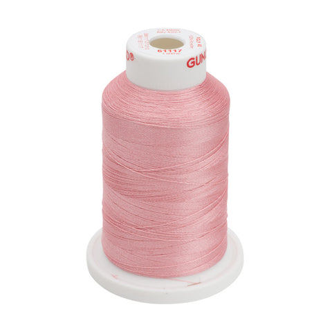 61117 - Mauve Polyester Embroidery Thread - 40 WT. 1,100 yd. Cones