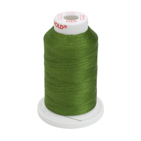 61176 - Medium Dark Avocado Polyester Embroidery Thread - 40 WT. 1,100 yd. Cones
