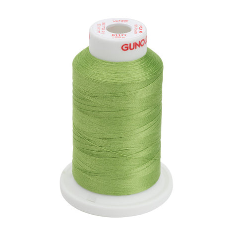 61177 - Avocado Polyester Embroidery Thread - 40 WT. 1,100 yd. Cones
