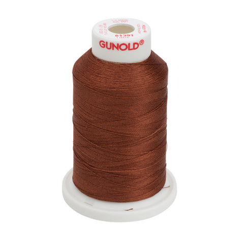 61391 - Tuscan Red Polyester Embroidery Thread - 40 WT. 1,100 yd. Cones