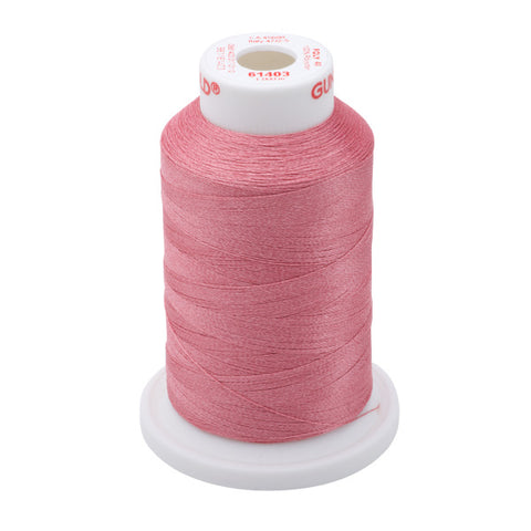 61403 - Light Burgundy Polyester Embroidery Thread - 40 WT. 1,100 yd. Cones