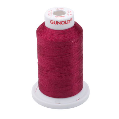61409 - Violet Polyester Embroidery Thread - 40 WT. 1,100 yd. Cones