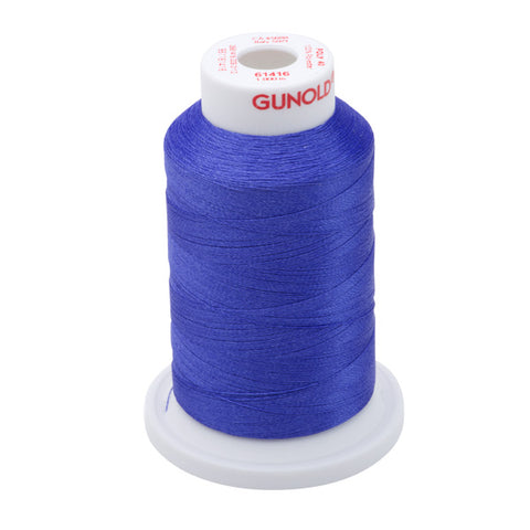 61416 - Iris Polyester Embroidery Thread - 40 WT. 1,100 yd. Cones