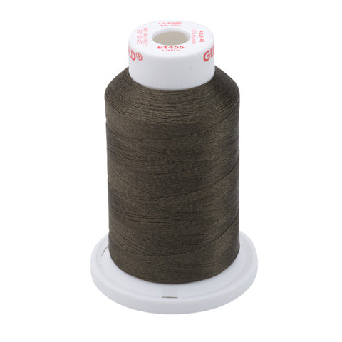 61455 - Mud Brown Polyester Embroidery Thread - 40 WT. 1,100 yd. Cones