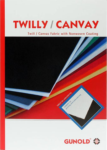 Twilly™ (Tackle-Twill) & Canvay™ Color Card