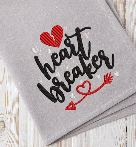 Heart Breaker 2021 Embroidery Design