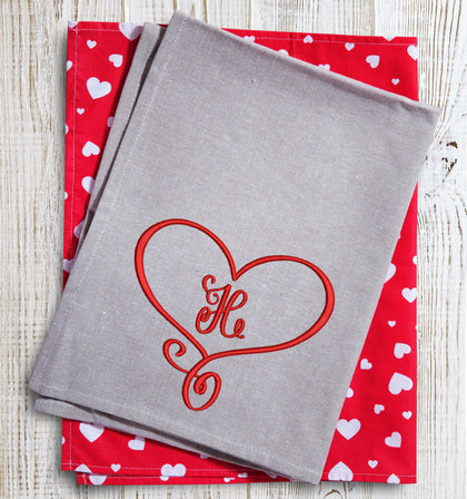 Heart Monogram 2021 (BX Included) - Oh My Crafty Supplies Inc.