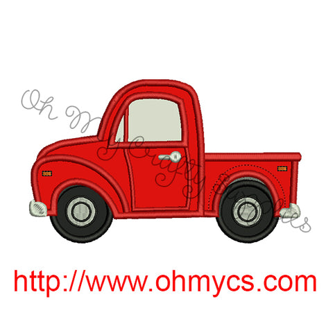 Pickup Truck Applique Design