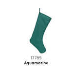 "Chic Christmas Stocking 19""-Aqua Marine"