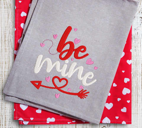 Be Mine 2021 Embroidery Design
