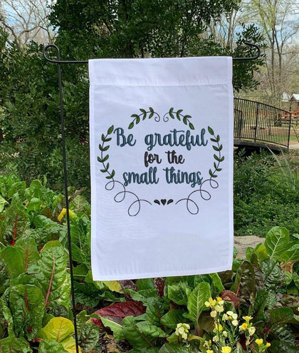 Be Grateful for Small Things Embroidery Design - Oh My Crafty Supplies Inc.