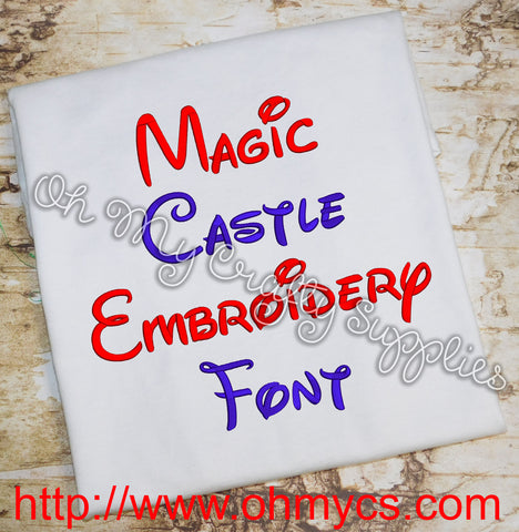 Magic Castle Font (BX Included)