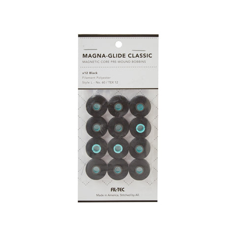 MAGNA-GLIDE CLASSIC - 12 PACK - STYLE L BLACK