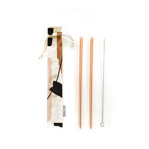 Hold On Reusable Straw Set (4 Piece)
