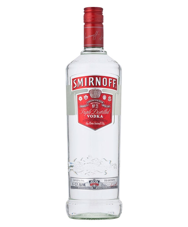 Smirnoff Red Label Vodka Litre