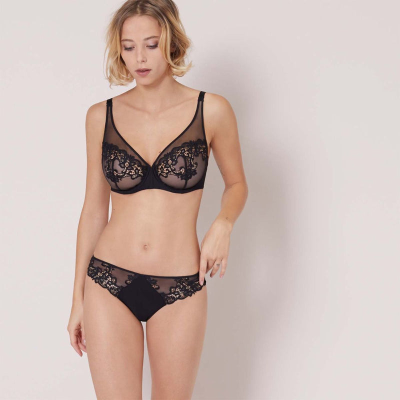 Simone Perele Brief - Black