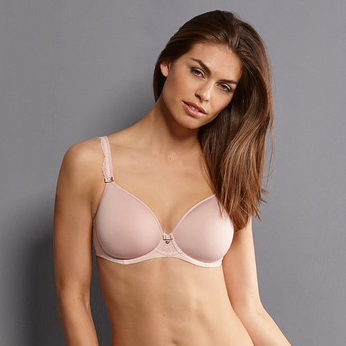 Anita Selma Underwired Bra with Spacer Cups - Rosewood