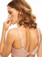 Chantelle Covering Molded Bra - Hedona - Black , Nude
